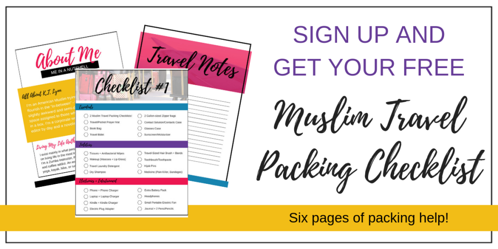 Muslim Travel Packing Checklist